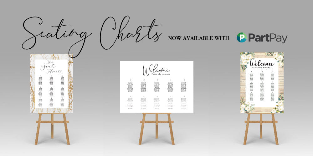 Wedding Seating Charts, a perfect addition to your on the day wedding signage. Ships from Auckland New Zealand (NZ)