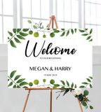 Garden Welcome Sign - Landscape