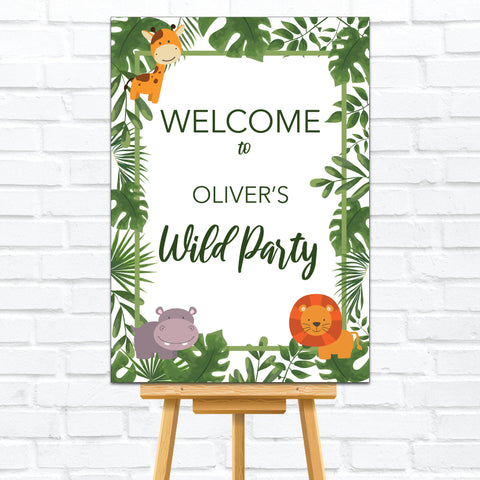 Kid's Welcome Signs