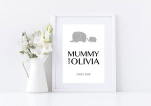 Mummy & Me Mother's Day Print