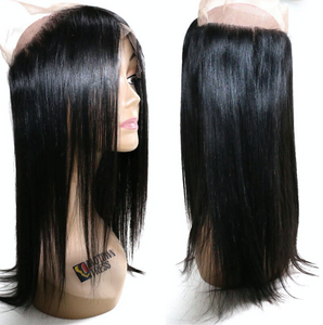Straight (pre-plucked) Lace Frontal 360