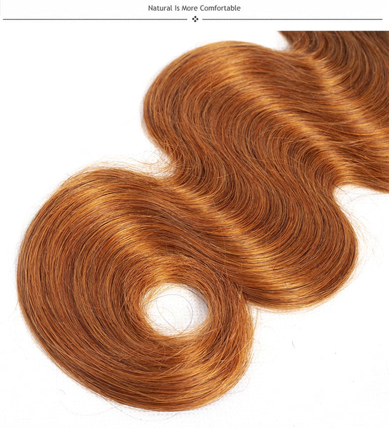 Ombre Colored Body Wave Bundles