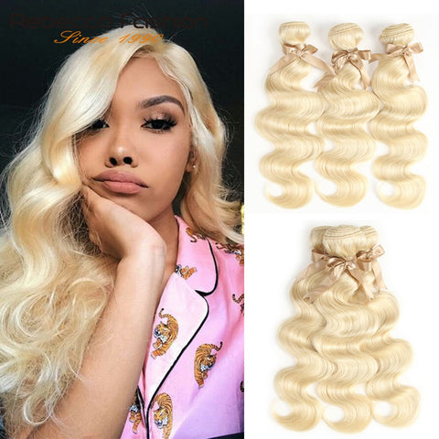 613 Honey Blonde Bundles Body Wave