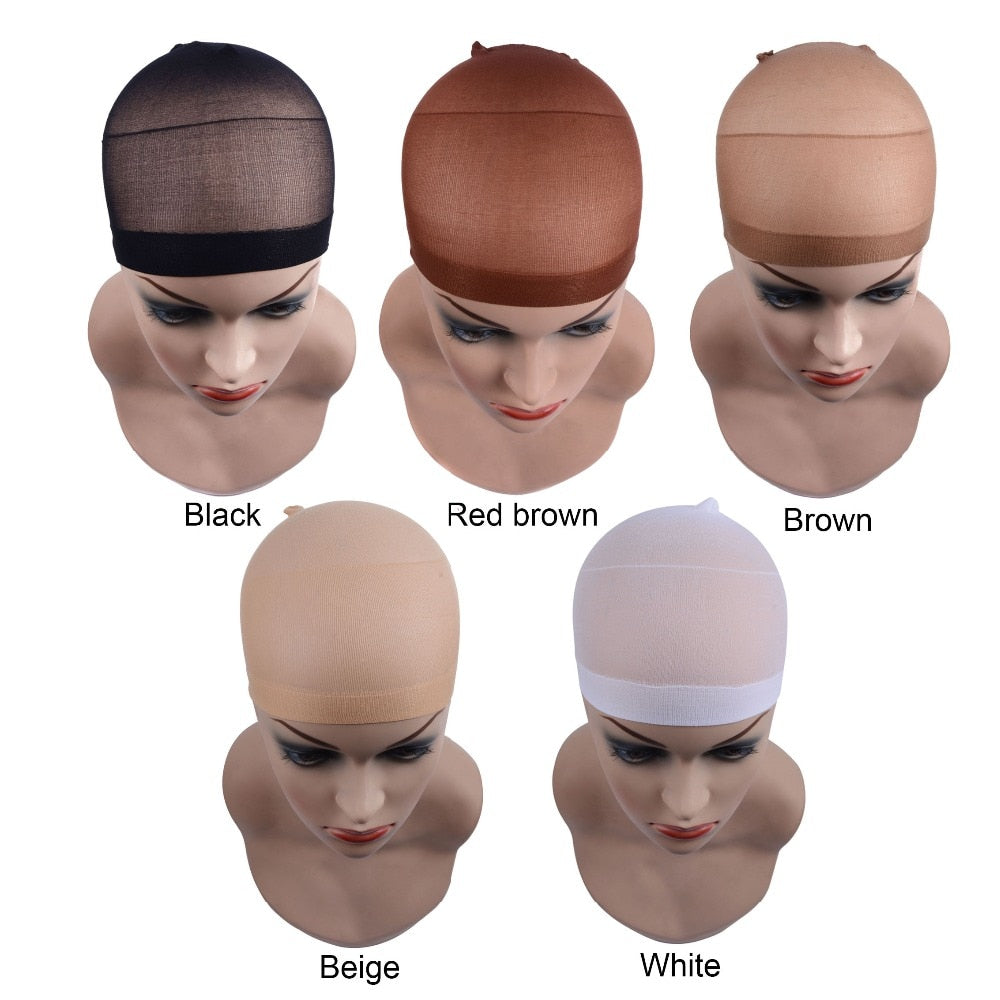 2 Pieces/Pack Wig Cap