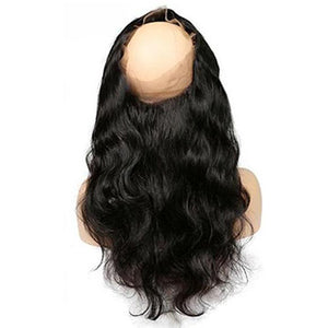 Body Wave (pre-plucked) Lace Frontal 360