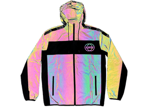 ILLVZN REFLECTIVE WINDBREAKER