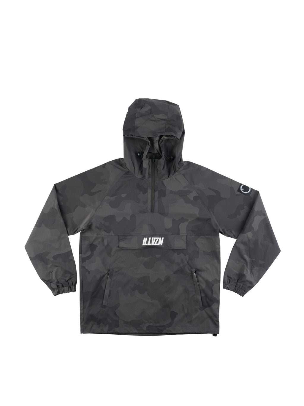 'DARK GREY' CAMO WINDBREAKER