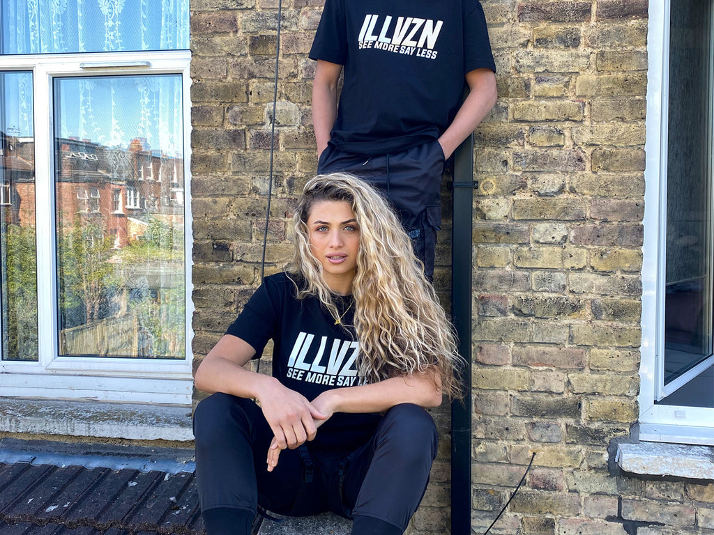 ILLVZN [SEE MORE, SAY LESS] REFLECTIVE TEE
