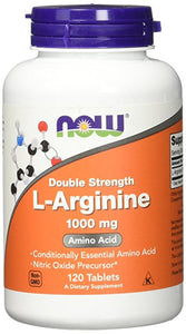 NOW L-Arginine 1000 mg - 120 Tabletas
