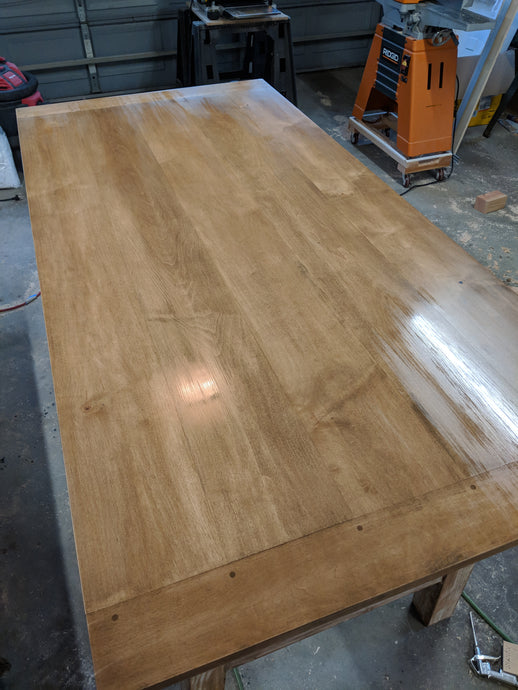 Staining Maple