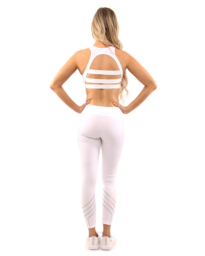 Laguna Leggings - White - Savoy Active