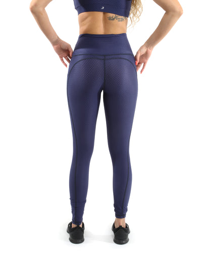 Venice Activewear Leggings - Navy [MADE IN ITALY] - Savoy Active