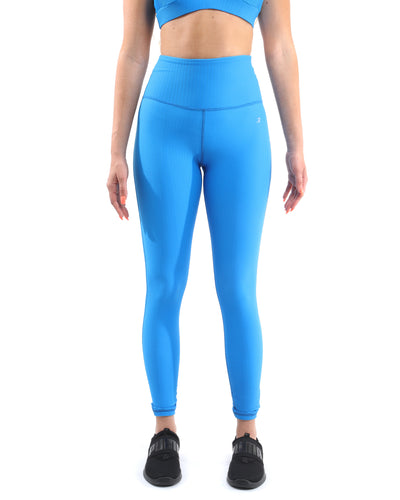 Positano Activewear Leggings - Aqua [MADE IN ITALY] - Savoy Active