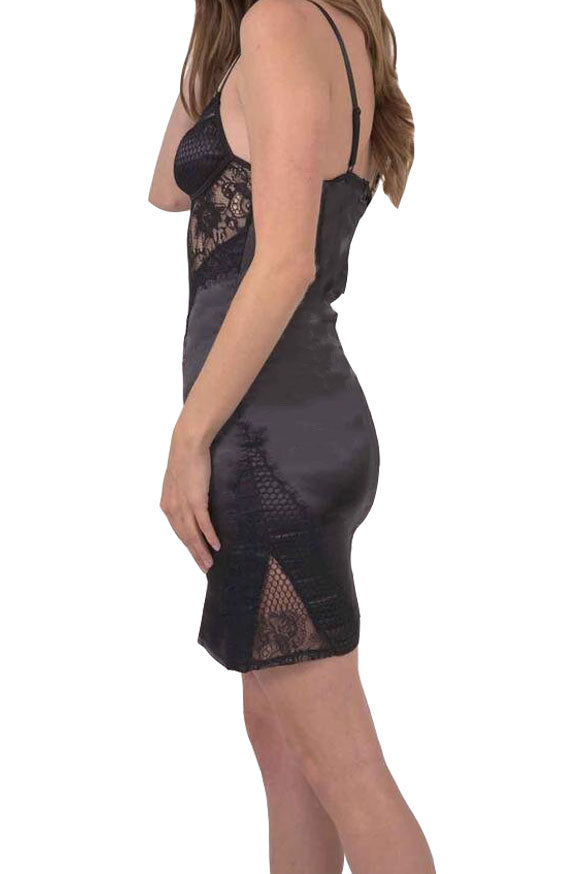 Load image into Gallery viewer, Della Dress - sexy lace party skater dress women hollow A-line sleeveless midi dress