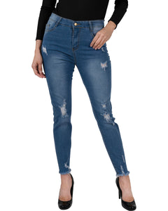 Via Rodeo High Waisted Skinny Jeans