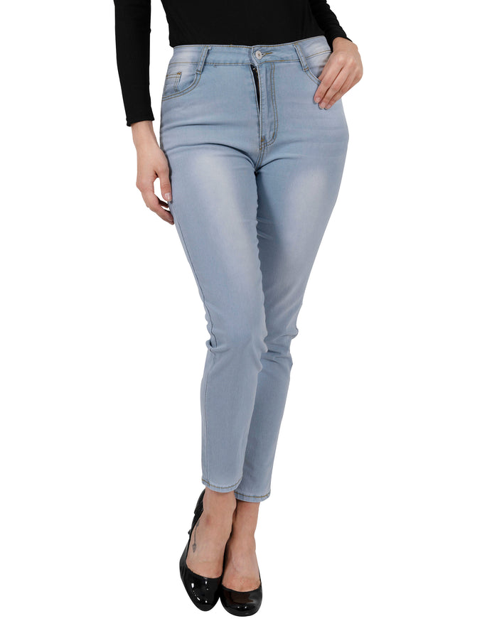 Load image into Gallery viewer, Benedict High Waisted Skinny Jeans - womens classic high waist denim skinny jeans