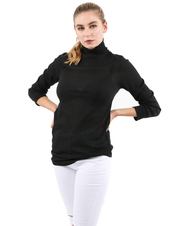 Load image into Gallery viewer, Java Ribbed Turtleneck Top