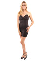 Delresto Mini Dress with Chain Straps