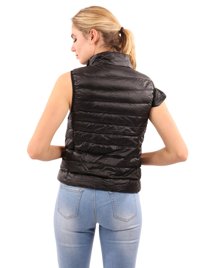 Load image into Gallery viewer, Walker Puffer Vest - Black
