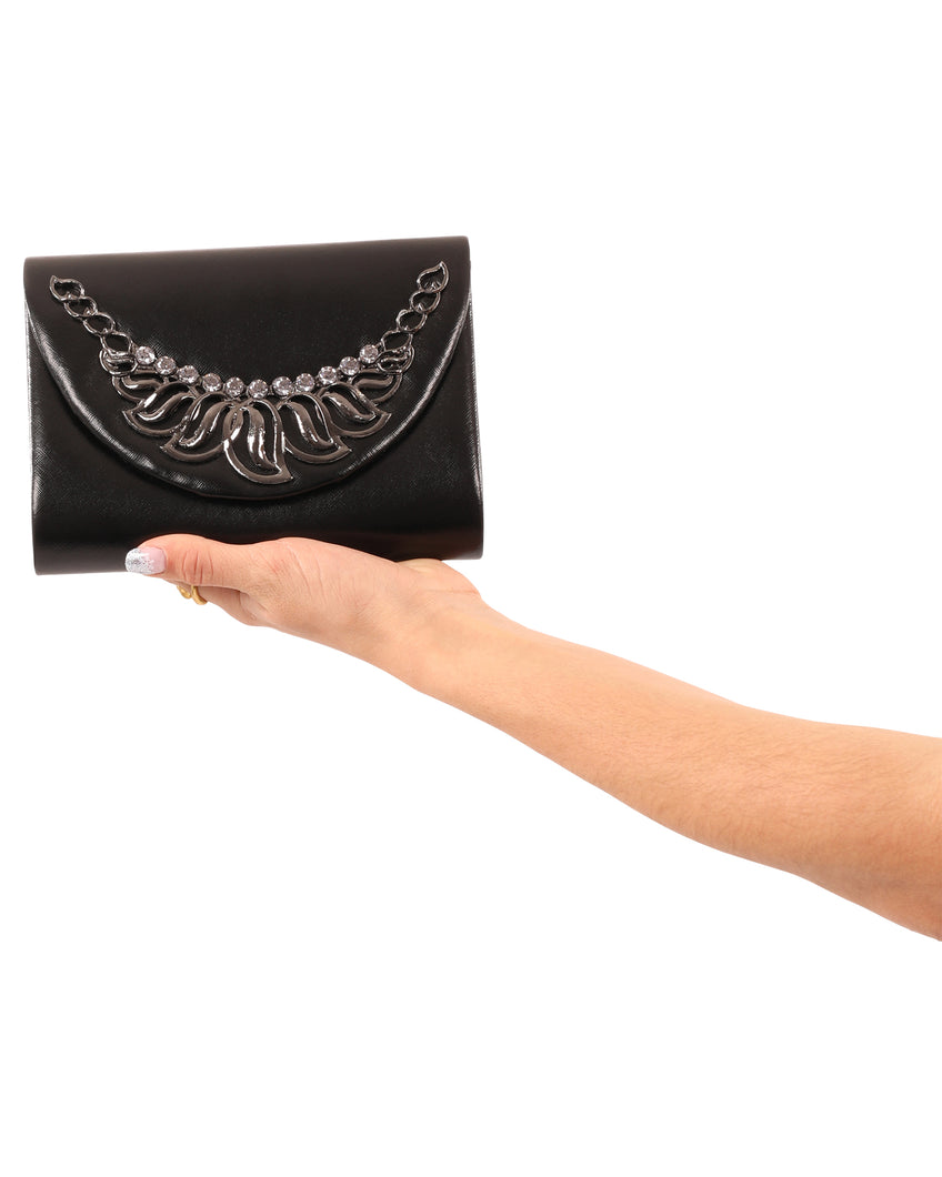 La Peer Small Clutch with Design