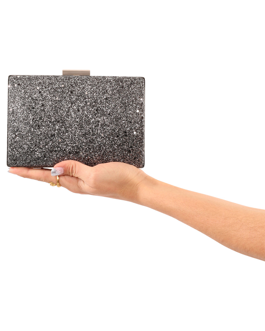 La Collina Small Clutch Silver