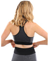 Arleta Seamless Sports Bra - Black