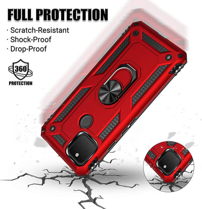 Military Grade Case IPhone 12 Pro Max - Red