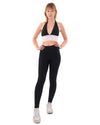 Bentley Set - Leggings & Sports Bra - Black & White