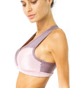 Copacabana Flex-Fit Racerback Sports Bra - Amethyst - Savoy Active