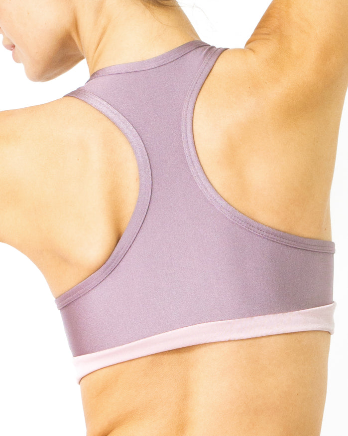 Load image into Gallery viewer, Copacabana Flex-Fit Racerback Sports Bra - Amethyst - Savoy Active