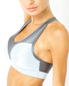 Copacabana Flex-Fit Racerback Sports Bra - Zinc - Savoy Active