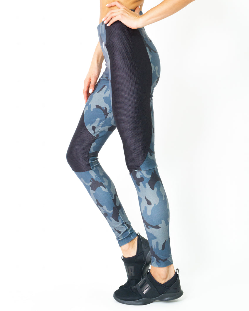 Veloso Supplex Moisture-Resistant Fashion Leggings - Savoy Active