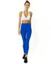 High Waisted Yoga Leggings - Sky Blue - Savoy Active