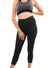 Destiny Legging - Women Scrunch Butt Lifting High Waist Push Up Yoga Legging - Black