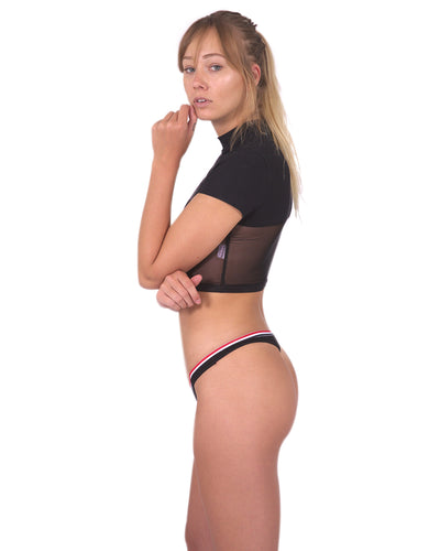 Drake Seamless Thong - Black