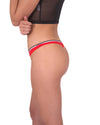 Drake Seamless Thong - Red
