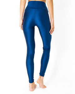 Nova Glam Body Sculpting Leggings - Navy Blue - Savoy Active