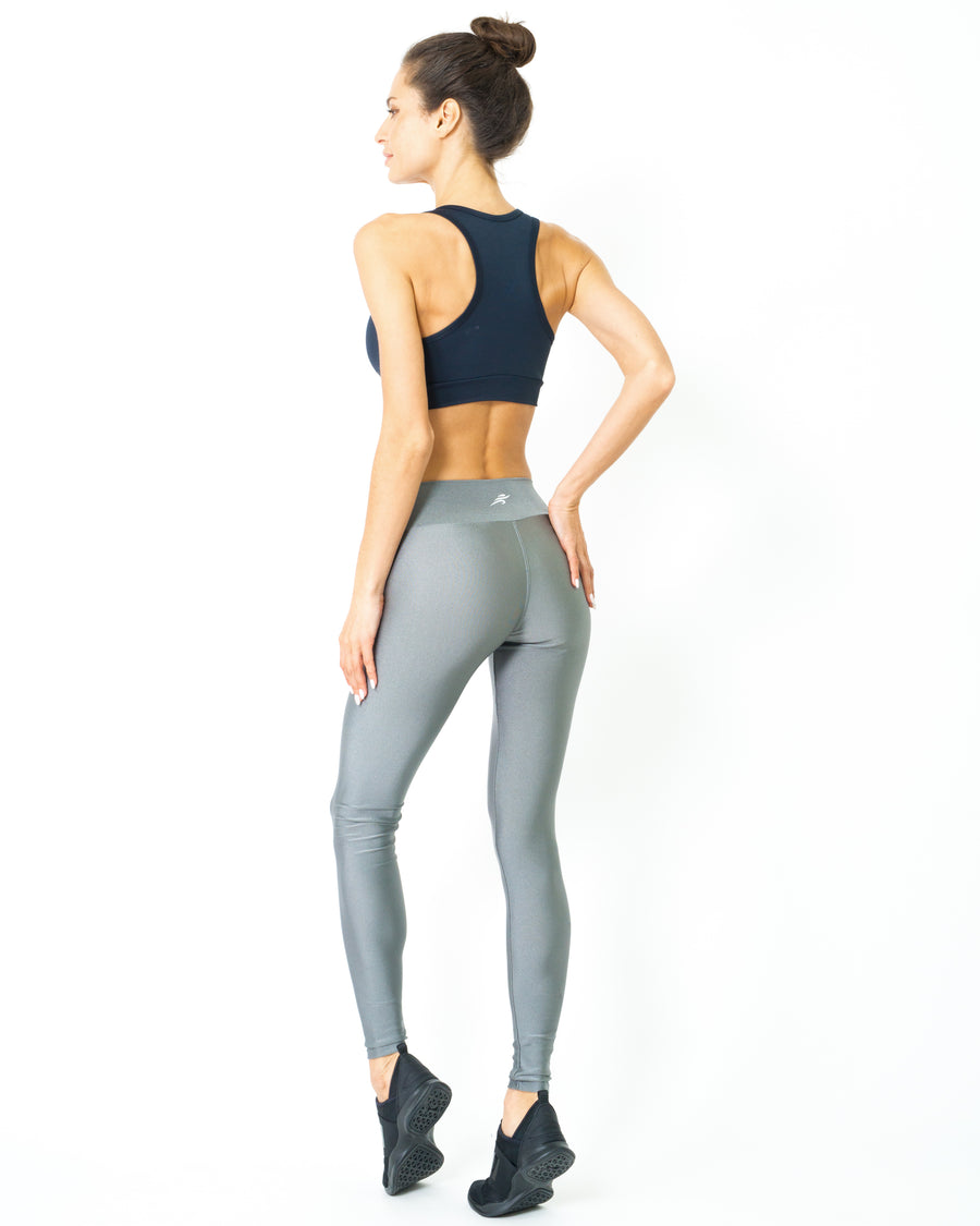 Samba Ultra-Stretch UV Protected Compression Leggings - Zinc - Savoy Active