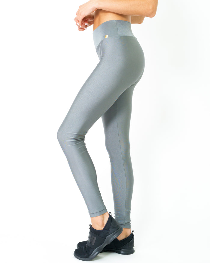 Load image into Gallery viewer, Samba Ultra-Stretch UV Protected Compression Leggings - Zinc - Savoy Active