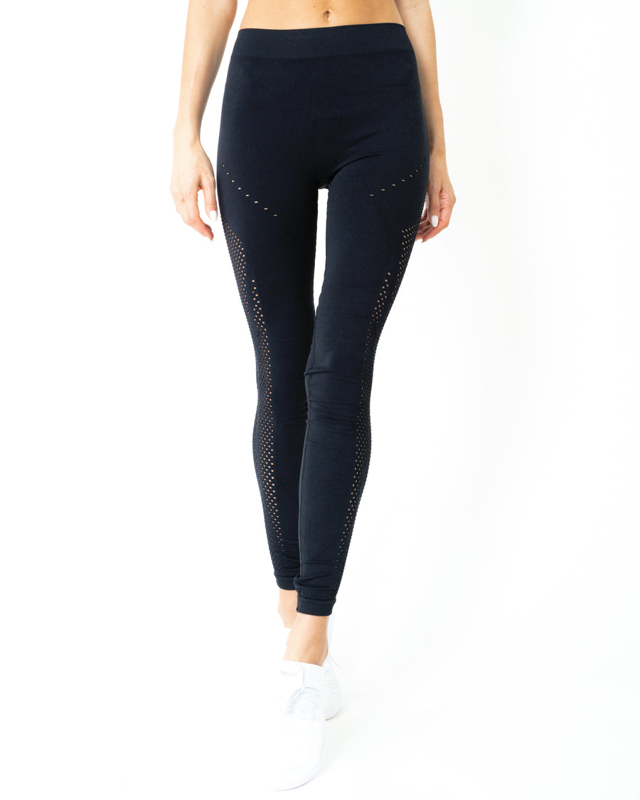 Milano Seamless Legging - Black