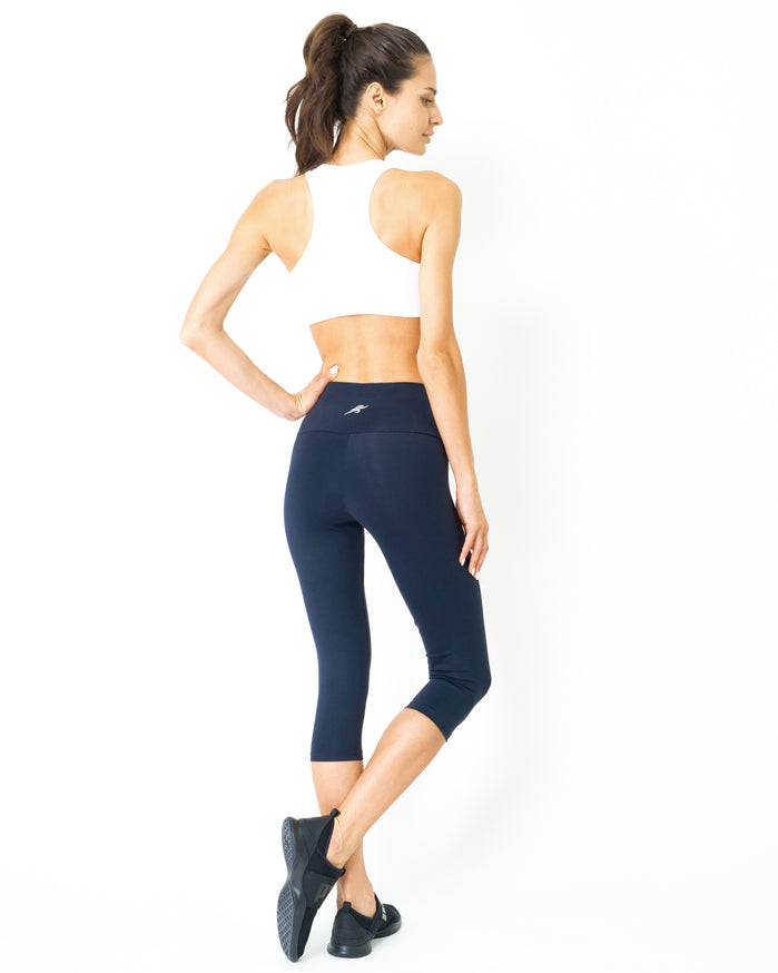Load image into Gallery viewer, Corsario Thermal-Comfort Capri Leggings - Savoy Active
