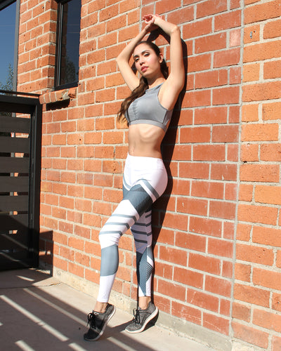 Santa Monica Leggings - White