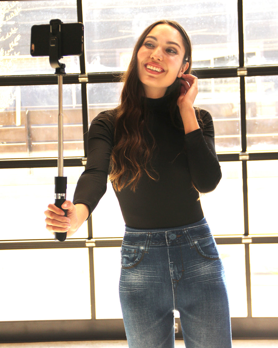 Bluetooth Selfie Stick and Tripod