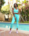 Mesh Seamless Set - Aqua