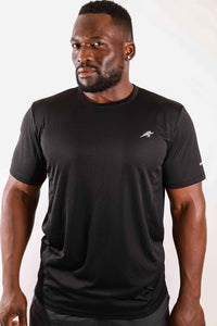 Short Sleeve Shirt - Black - Savoy Active
