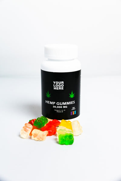 Hemp Seed Oil Gummies - 30,000MG - 60 Gummies