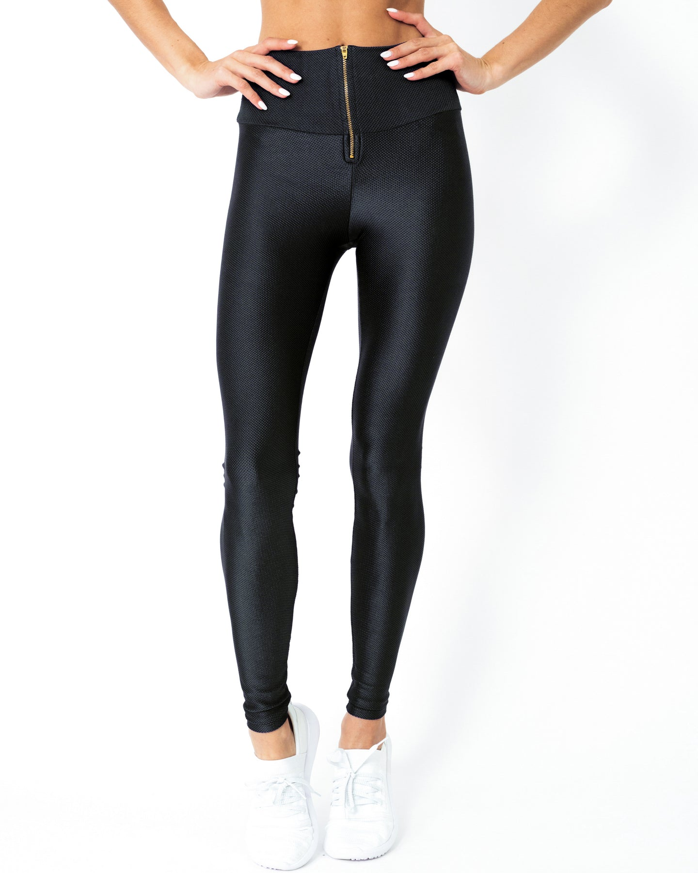 Nova Glam Body Sculpting Leggings - Black - Savoy Active