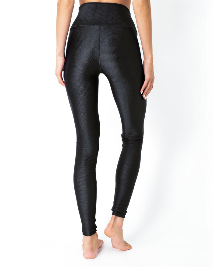 Load image into Gallery viewer, Nova Glam Body Sculpting Leggings - Black - Savoy Active