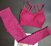 Ketana Seamless Sports Bra with Cutouts in Burgundy