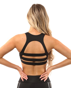 Laguna Sports Bra - Black - Savoy Active